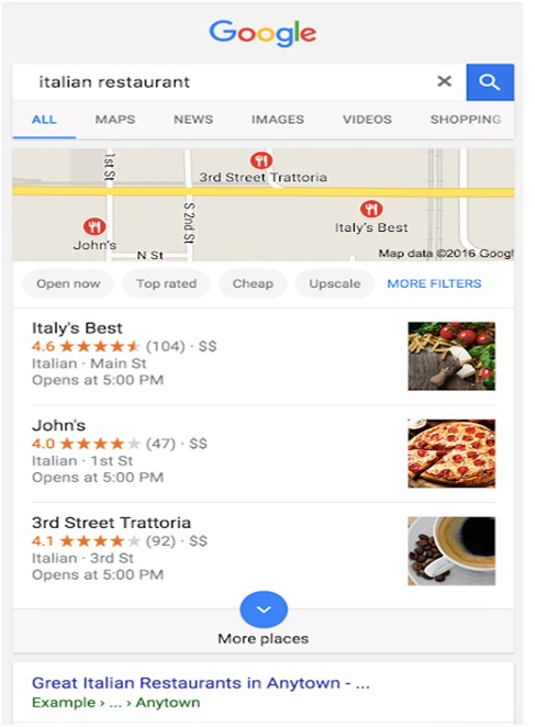 SERP for queries with local search intent_image